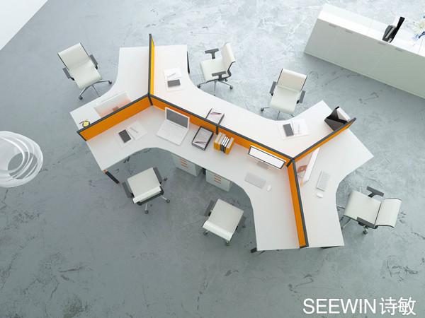 员工区办公家具设计图片