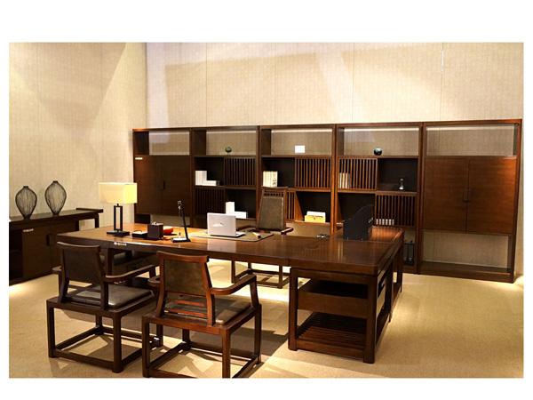 实木办公桌-BT06
