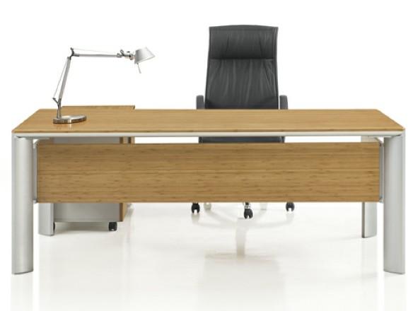 诗敏办公家具 MOJO 清竹木 1.6米、2米办公桌 办公班台