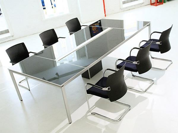 玻璃会议桌-HYZ02