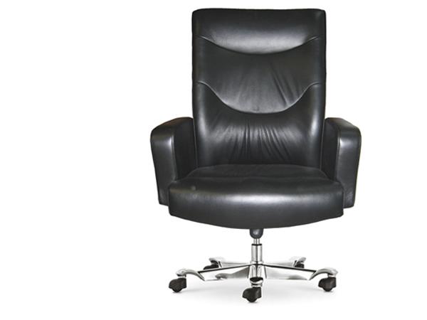 牛皮班椅-BGY11