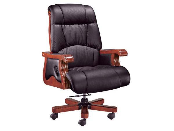 牛皮班椅-BGY05