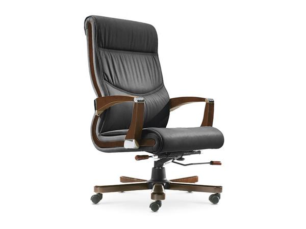 牛皮班椅-BGY01