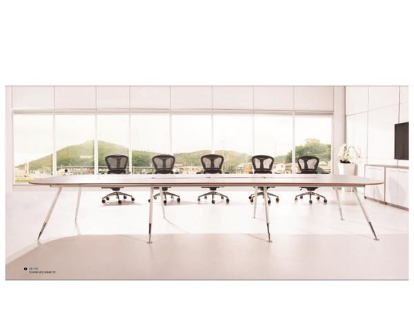 板木会议桌-HYZ04