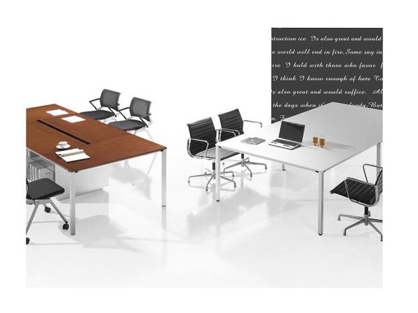 板木会议桌-HYZ02