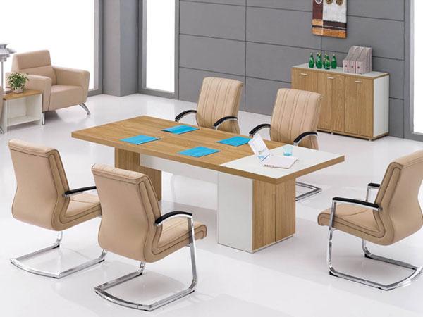 板木会议桌-HYZ15