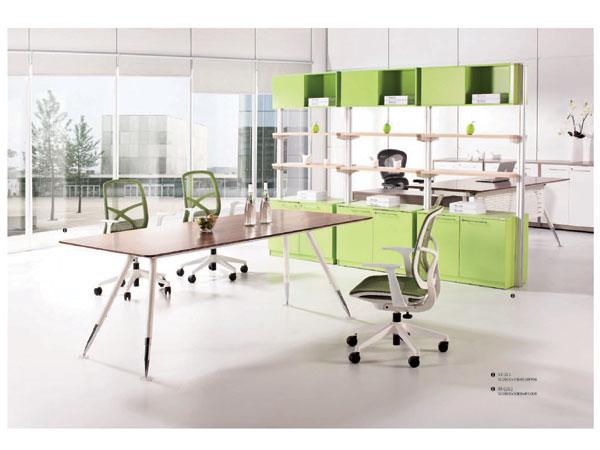 板木会议桌-HYZ05