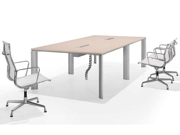 板木会议桌-HYZ17