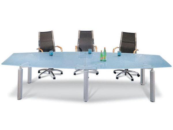 玻璃会议桌-HYZ03