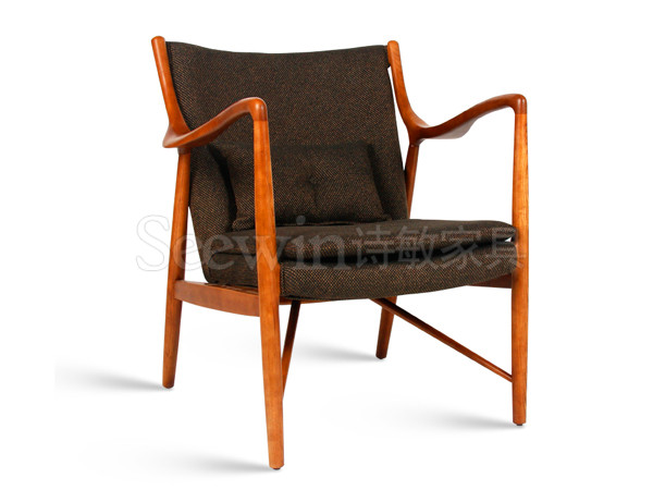 实木休闲椅-LC10