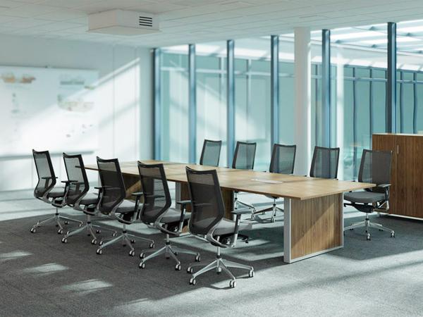 板式会议桌-HYZ26