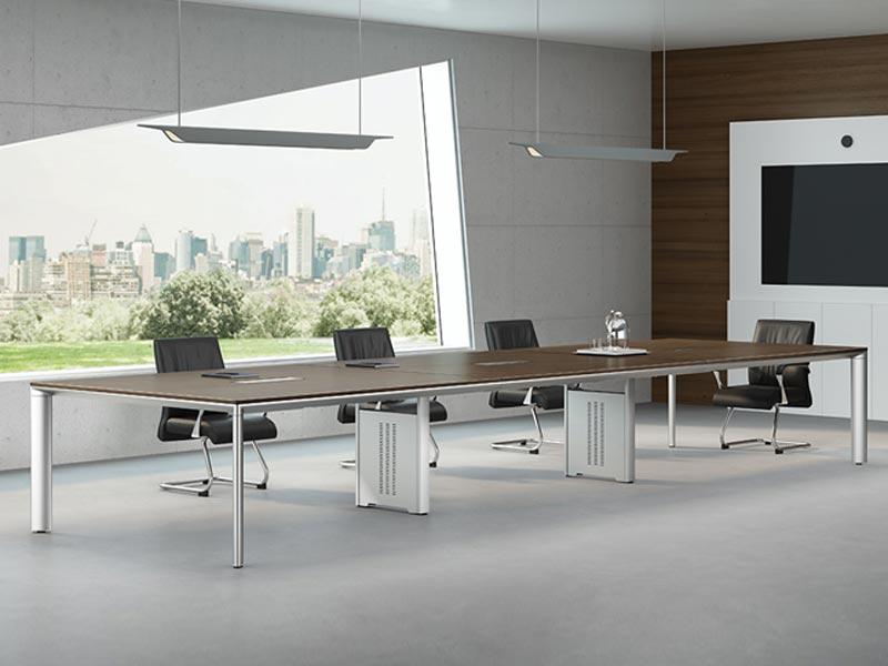 实木会议桌-HYZ17